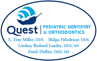 Quest Pediatric Dentistry and Orthodontics logo
